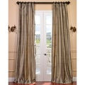 Signature Cashmere Textured Silk Curtain Panel