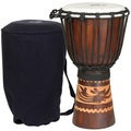 Kalimantan Djembe Drum with Tote Bag (Indonesia)