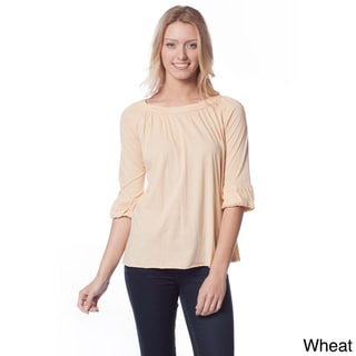 AtoZ Women's Roll-neck Top