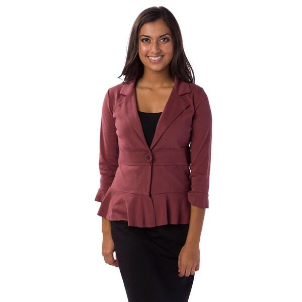 AtoZ Women's Single-button Jacket