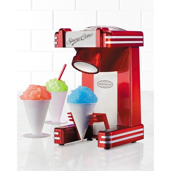 Nostalgia Electrics Retro Series Single Snow Cone Maker