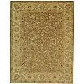 Handmade Antiquities Treasure Brown/ Gold Wool Rug (12' x 18')
