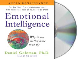 Emotional Intelligence: Why It Can Matter More That IQ (CD-Audio)