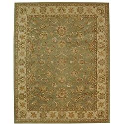 Safavieh Handmade Antiquities Gem Green Wool Rug (12' x 18')