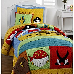 'Treasure Island' Twin-size 3-piece Quilt Set