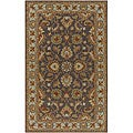 Hand-tufted Coliseum Wool Rug (4' Round)