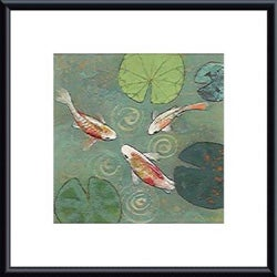 Aleah Koury 'Floating Motion I' Metal Framed Art Print