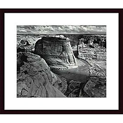 Adams 'Canyon de Chelly National Monument' Wood Framed Art