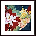 Hong Mi Lim 'Lotus Dream II' Wood Framed Art Print