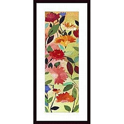 Kim Parker 'Freesia' Wood Framed Art Print