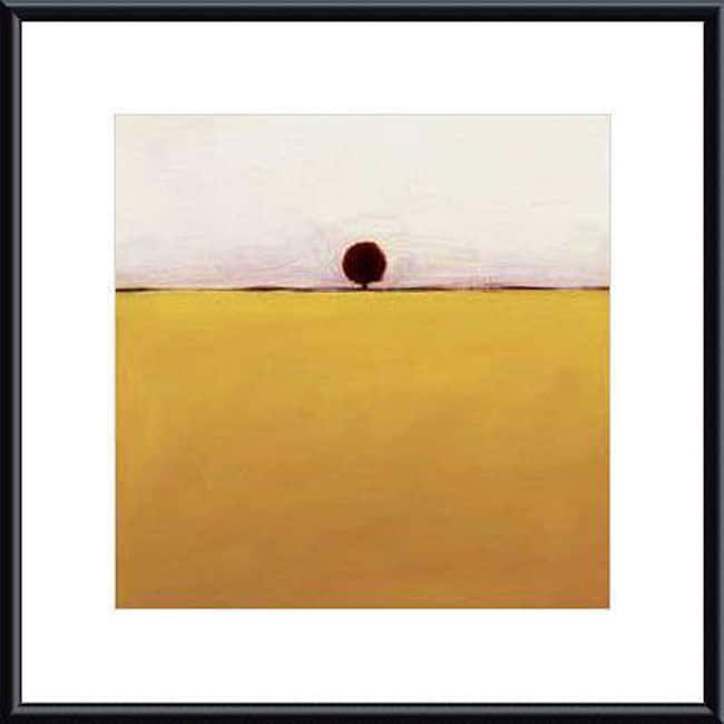 Ron Rogers 'One in Yellow' Metal Framed Art Print