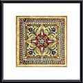 Ruth Franks 'Italian Tile II' Metal Framed Art Print