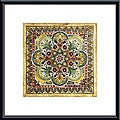 Ruth Franks 'Italian Tile III' Metal Framed Art Print