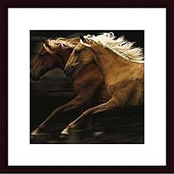 Tony Stromberg 'The Dance' Wood Framed Art Print