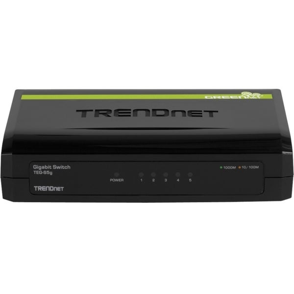 TRENDnet 5-Port Gigabit GREENnet Switch
