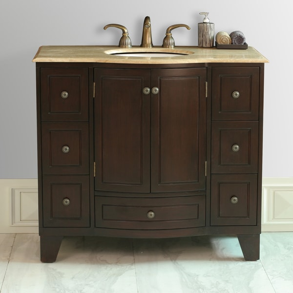 Stufurhome 40 Inch Grand Cheswick Single Sink Vanity