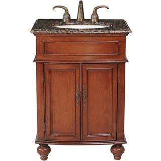 Stufurhome Prince 26 Inch Single Sink Granite Top Vanity Overstock Shopping Great Deals On