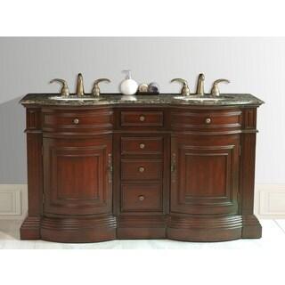 Stufurhome Catherine Double-sink Granite Vanity