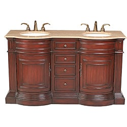 Stufurhome Catherine' 62-inch Double-sink Vanity