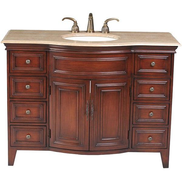 Stufurhome Yorktown 48 Inch Single Sink Vanity 12129936 Sho