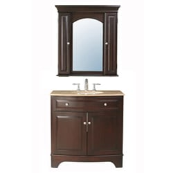 Stufurhome Amanda 36-inch Single Sink Vanity
