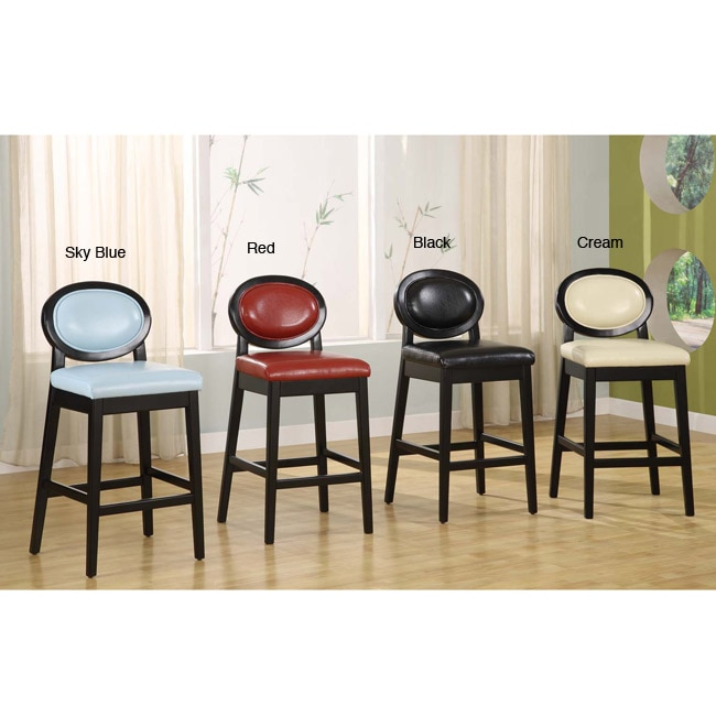 Martini Leather Bar Stool