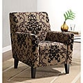 Fiesta Club Chair in Filigree Fabric