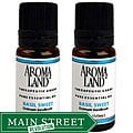 Aromaland Basil Sweet 10-ml Essential Oil Set (Pack of 2)
