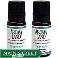 Aromaland Clary Sage Essential Oils (Pack of 2)