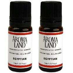 Aromaland 10-ml Egyptian Essential Oil Blend (Pack of 2)