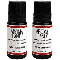 Aromaland Sweet Embrace 10 ml Essential Oil Blend (Pack of 2)