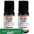 Aromaland 10 ml Evergreen Blend Essential Oils (Pack of 2)