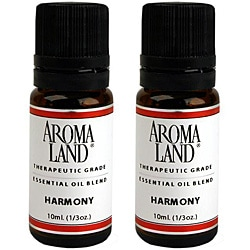 Aromaland 10 ml Harmony Essential Oil Blend (Pack of 2)