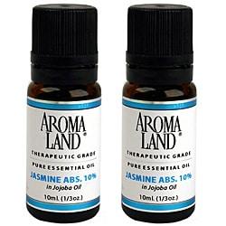 Aromaland Jasmine 10 ml Essential Oils (Pack of 2)