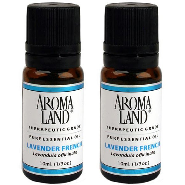 Aromaland Lavender French 10 ml Essential Oils (Pack of 2)