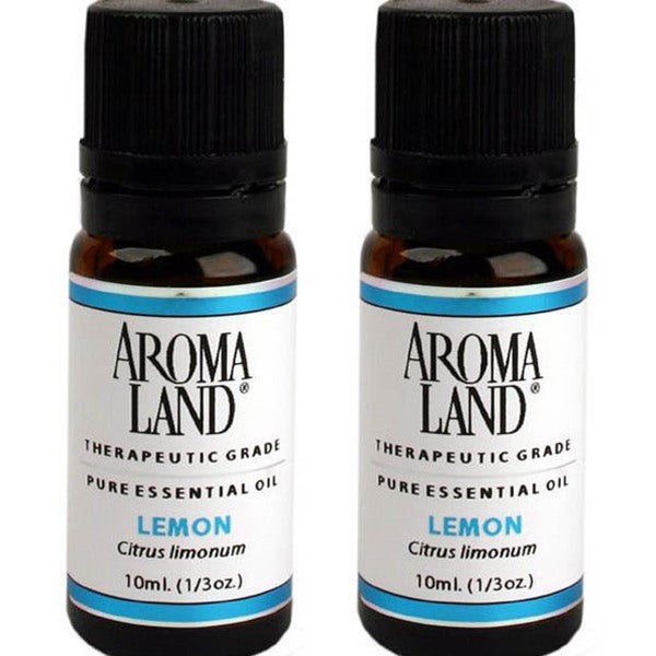 Aromaland 10 ml Lemon Essential Oils (Pack of 2)