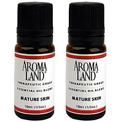 Aromaland 10-ml Mature Skin Essential Oil Blend Set (Pack of 2)
