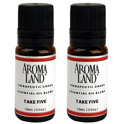 Aromaland Take Five Essential Oils (Pack of 2)