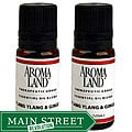 Aromaland Ylang Ylang and Ginger 10 ml Essential Oils (Pack of 2)