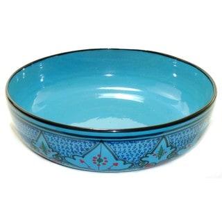 Sabrine Design 12-inch Pasta Bowl (Tunisia)
