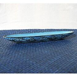 Sabrine Design 16-inch Olive Boat (Tunisia)