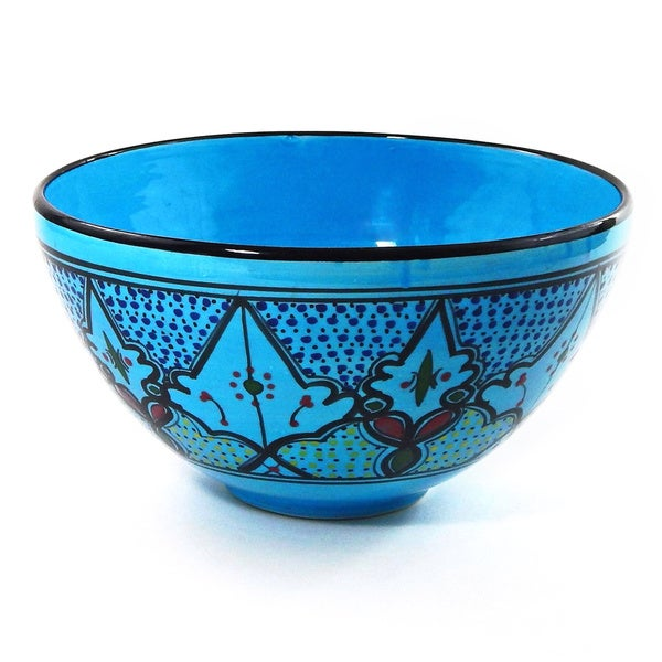 Sabrine Design 12-inch Deep Salad Bowl (Tunisia)
