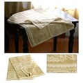 'Paracas Dew' Alpaca Wool Throw Blanket (Peru)