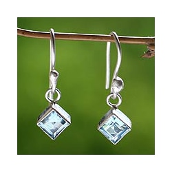 Topaz 'Heaven's Window' Earrings (Indonesia)