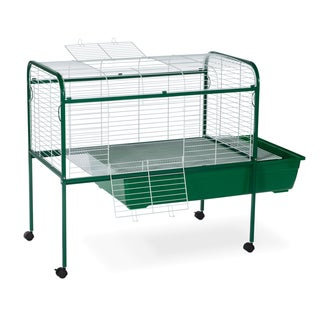 Prevue Pet Products Small Animal Cage with Stand 520 Green &amp; White