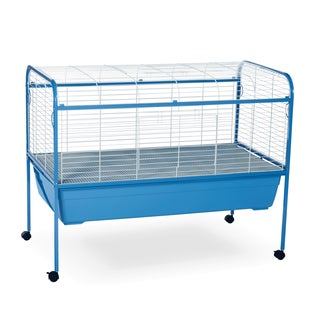 Prevue Pet Products Small Animal Cage with Stand 620 Powder Blue & White