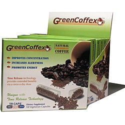 GreenCoffex Energy Supplement Capsules (36 Count)