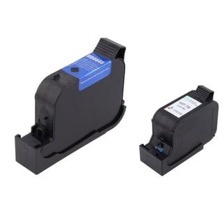 Insten HP 45/78 for HP Color Copier 190/ 290/ Deskjet 995C/ OfficeJet T65/ PhotoSmart P1218 (Pack of 2)