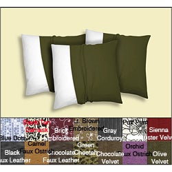 Decorative Pillow Covers (3 piece set)