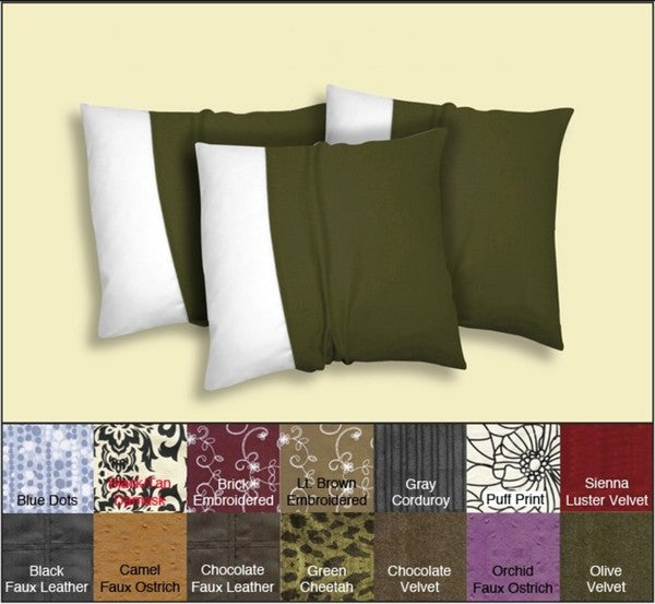 Decorative Pillow Covers (Set of 3)
